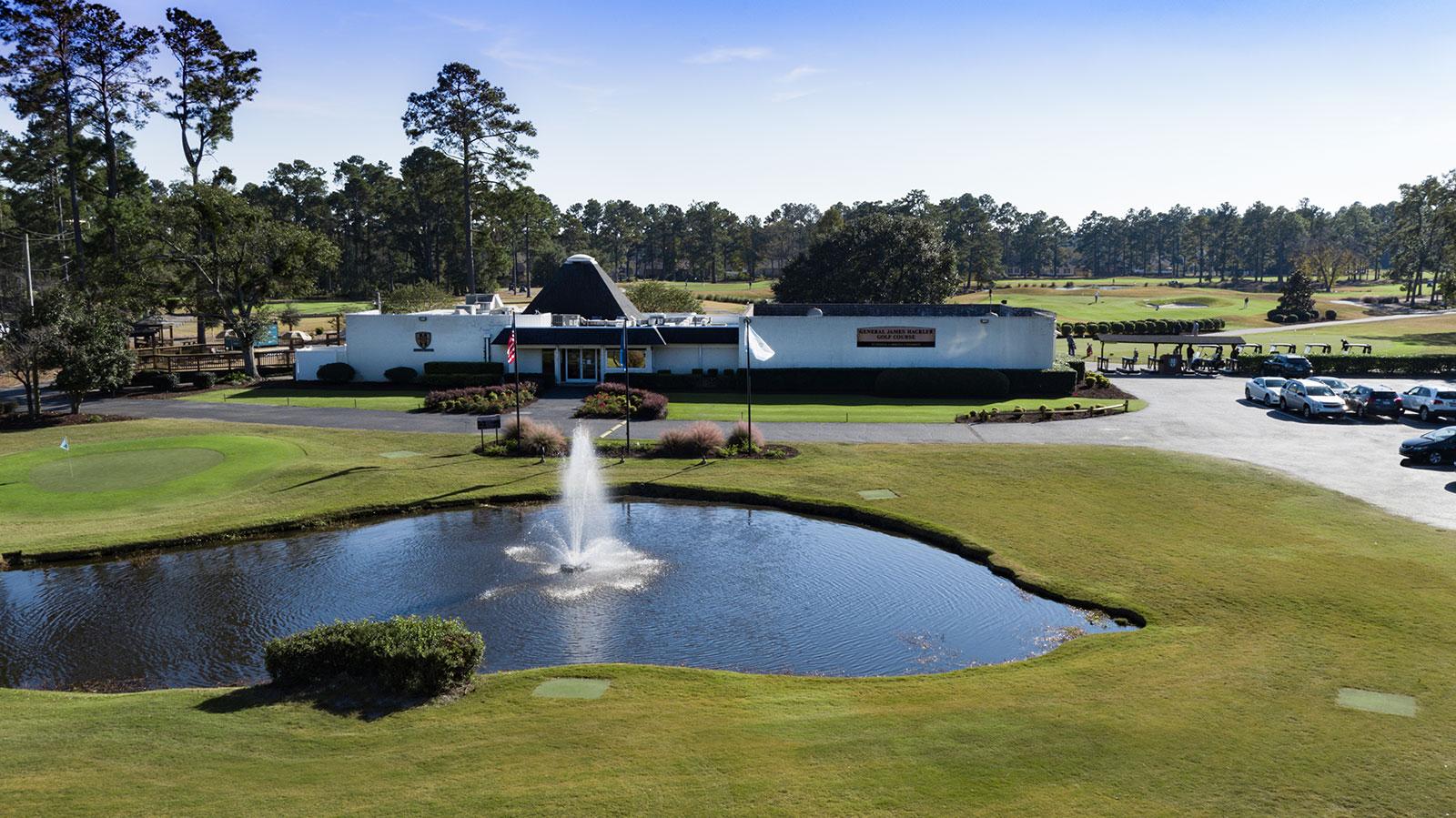 Hackler Course At Coastal Carolina University