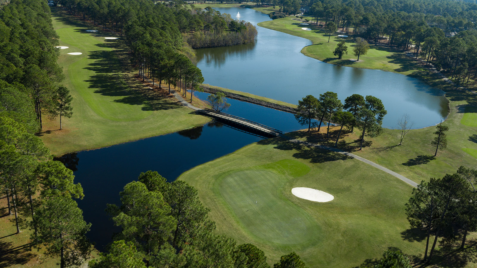 Willard Byrd Course At Sea Trail Resort